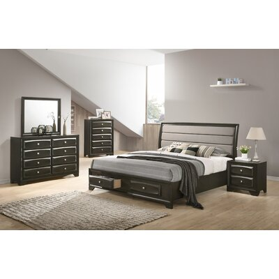 Gauch Platform 5 Piece Bedroom Set Size: Queen