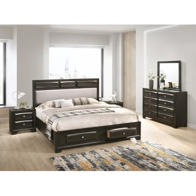 Beagan Platform 5 Piece Bedroom Set Size: King