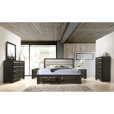 Gauch Platform 6 Piece Bedroom Set Size: Queen