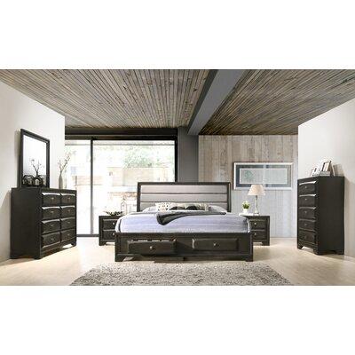 Gauch Platform 6 Piece Bedroom Set Size: King