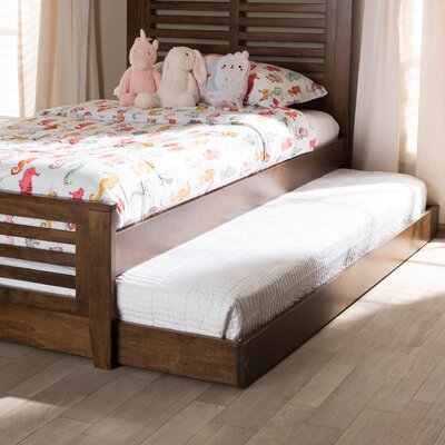 Fentress Modern and Contemporary Twin Platform Bed