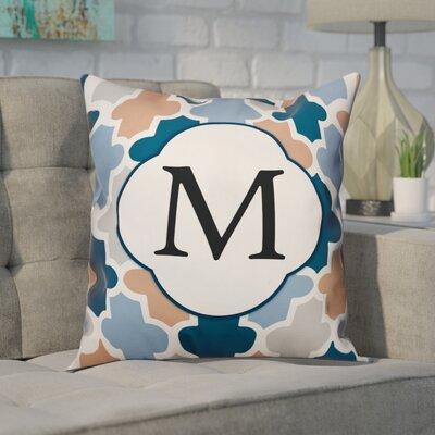 Comstock Monogram Throw Pillow Letter: M