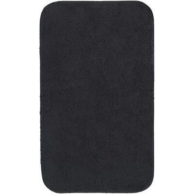 Castleberry Bath Mat Size: 24 W x 38 L, Color: Black