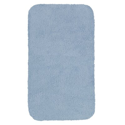 Castleberry Bath Mat Size: 24 W x 38 L, Color: Blue Mist