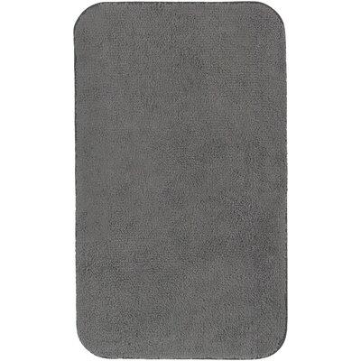 Castleberry Bath Mat Size: 24 W x 38 L, Color: Charcoal