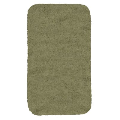 Castleberry Bath Mat Size: 20 W x 34 L, Color: Peridot