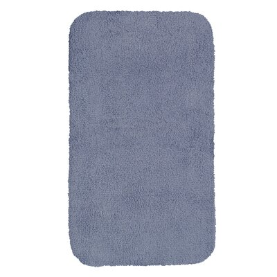 Castleberry Bath Mat Size: 20 W x 34 L, Color: Wedgewood Blue