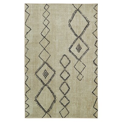 Greater Taree Diamond Natural Area Rug Rug Size: Rectangle 8 x 10