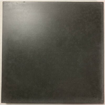 Solid Excalibur 8 x 8 Cement Field Tile in Dark Gray