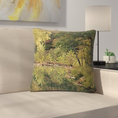 Sylvia Coomes In the Woods 3 Photography Outdoor Throw Pillow Size: 16 H x 16 W x 5 D