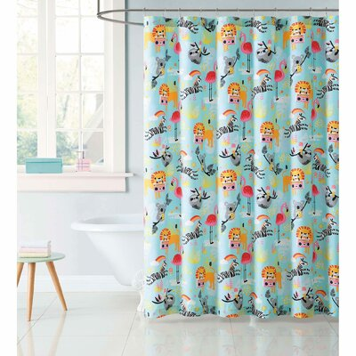 Holmquist Party Animals Shower Curtain