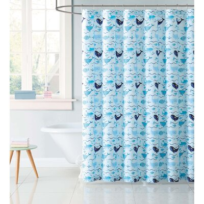 Hollowell Deep Blue Sea Shower Curtain