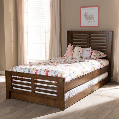 Orient Park Sarah Twin Platform Bed Color: Brown