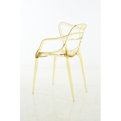 Gorsuch Dining Chair Color: Yellow