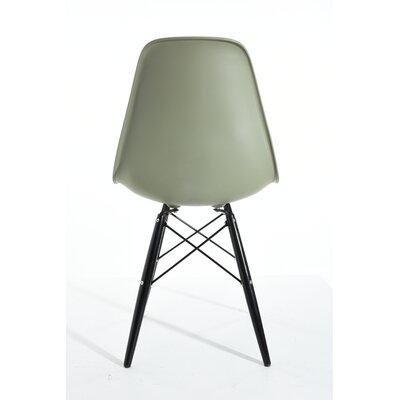 Christiansen Dining Chair Color: Avocado/White