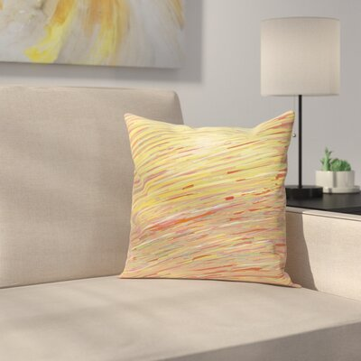 Carovilli Throw Pillow Size: 20 H x 20 W, Color: Warm