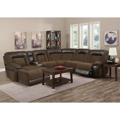 Fenwick Landing Reclining Sectional (Set of 7) Reclining Mechanism: Manual