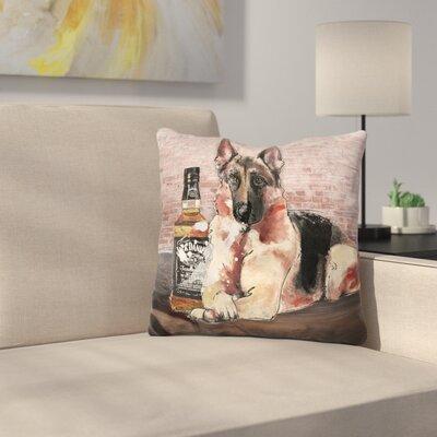 Jack and Shepherd Throw Pillow