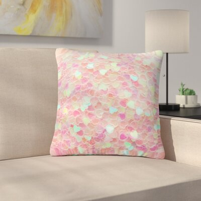 Debbra Obertanec Hearts Galore Love Outdoor Throw Pillow Size: 16 H x 16 W x 5 D