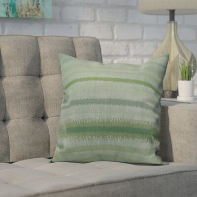 Dorazio Raya De Agua Indoor/Outdoor Throw Pillow Size: 20 H x 20 W, Color: Green