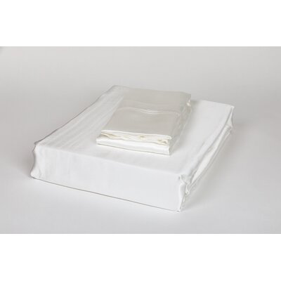 Dorey Silk Sheet Set Color: Ivory, Size: Queen