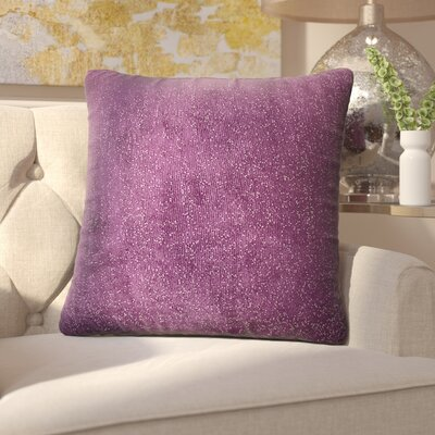 Sola Throw Pillow Size: 16, Color: Jupiter