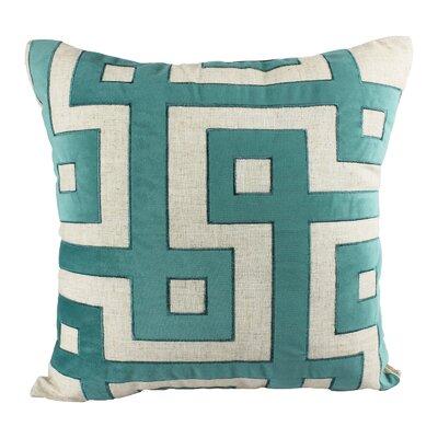 Filler Geometric Indoor/Outdoor Throw Pillow