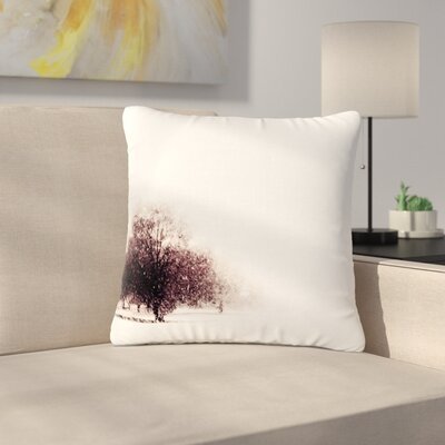 Sylvia Coomes Winter Landscape Outdoor Throw Pillow Size: 18 H x 18 W x 5 D