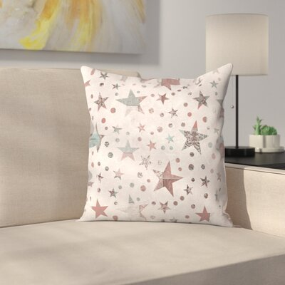 Stars 1 Throw Pillow Size: 18 x 18