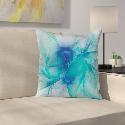 Modern Creative Artwork Square Pillow Cover Size: 18 x 18