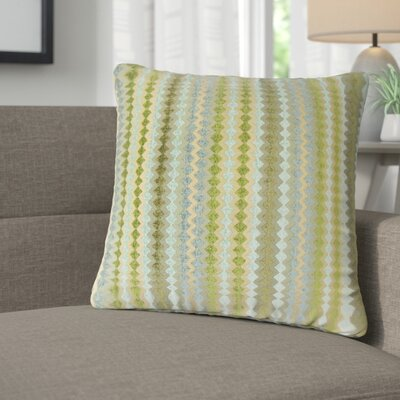 Jenny Geometric Throw Pillow Color: Lake