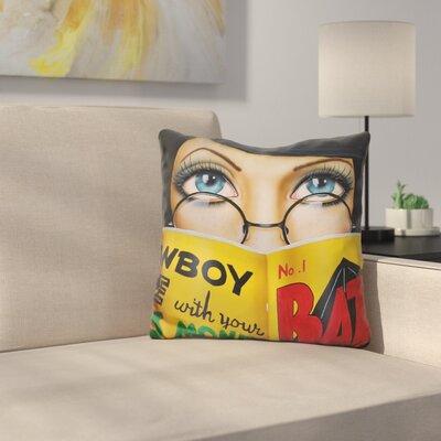 Easy Reading Throw Pillow