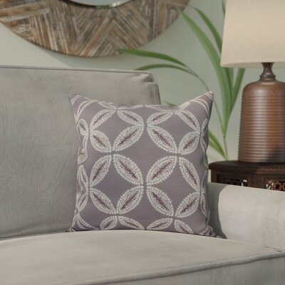 Viet Tidepool Throw Pillow Size: 20 H x 20 W, Color: Lavender