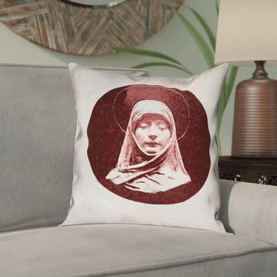 Carpenter Vintage Prayer Woman Double Sided Print Throw Pillow
