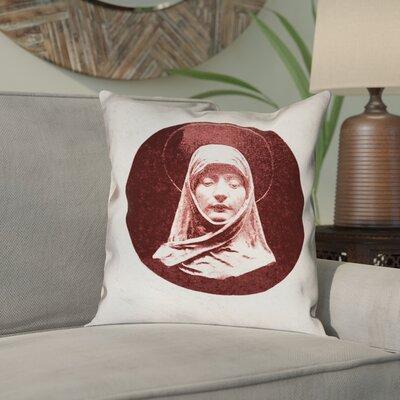 Carpenter Vintage Prayer Woman Double Sided Print Throw Pillow