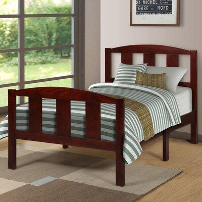 Etna Twin Platform Bed Color: Cherry