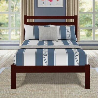 Etter Twin Platform Bed Color: Walnut