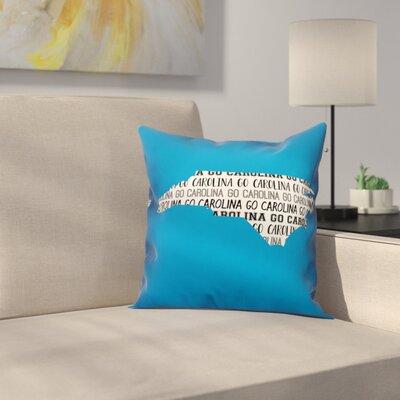 North Carolina Go Team Throw Pillow