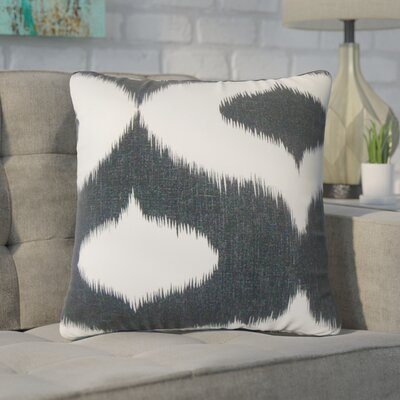 Willowridge Ikat Cotton Throw Pillow