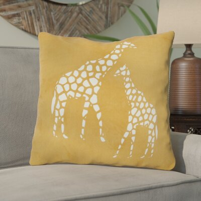 Dunneback Giraffe Throw Pillow