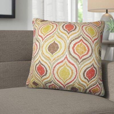 Alissa Geometric Cotton Throw Pillow