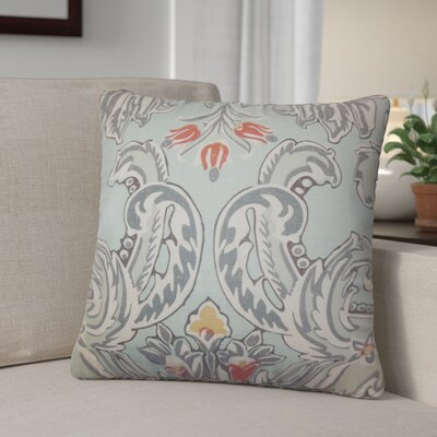 Dolton Modern Linen Throw Pillow Color: Light Blue