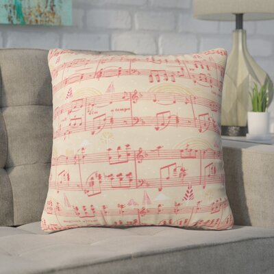 Donmoyer Magical Holiday Wishes Throw Pillow Size: 16 H x 16 W x 4 D