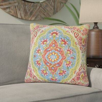 Tyreek Floral Down Filled Throw Pillow Size: 22 x 22