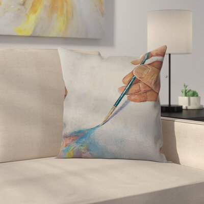 Michael Creese Painting Throw Pillow Size: 16 x 16