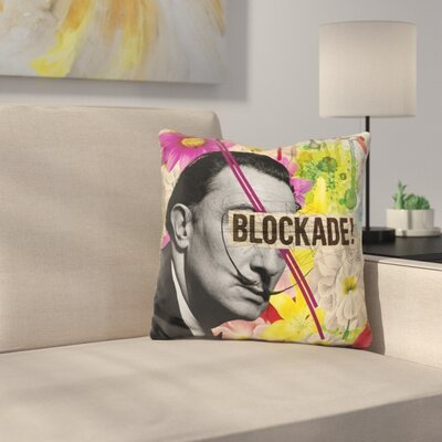 Dali Throw Pillow