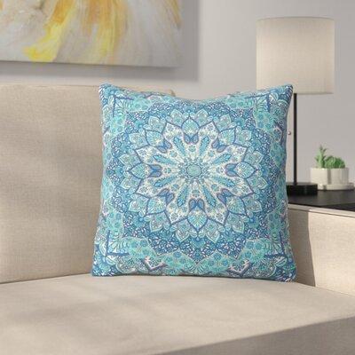 Throw Pillow Size: 16 H x 16 W x 4 D, Color: Blue