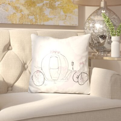 Leo Cinderella Throw Pillow