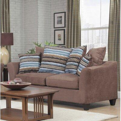 Nassau Sofa Upholstery: Suede Chocolate