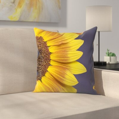 Maja Hrnjak Sunflower Throw Pillow Size: 18 x 18